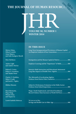 The Journal of Human Resources