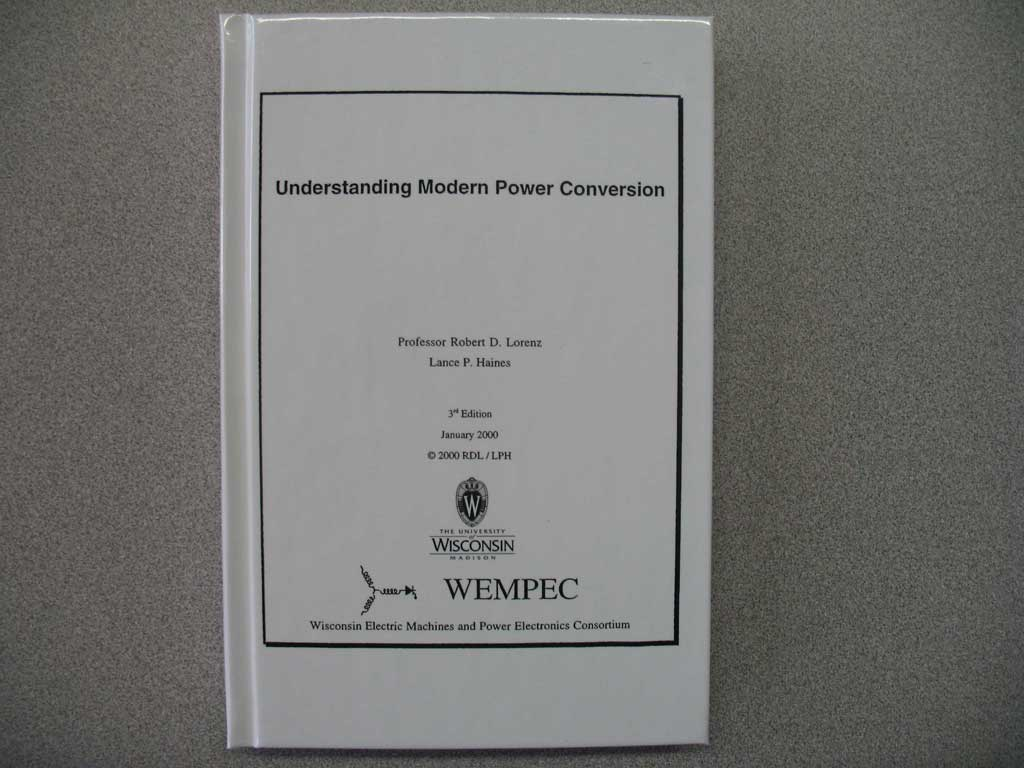 WEMPEC – Wisconsin Electric Machines and Power Electronics ...